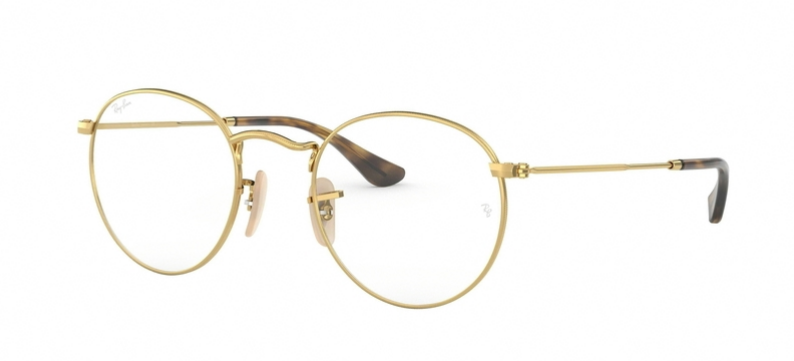 Rayban Gold Wire Frame